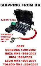 FUSE BOX BATTERY TERMINAL SEAT CORDOBA IBIZA MK3 INCA LEON TOLEDO MK2 1J0937617A