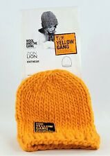 Veuve Clicquot & Wool And The Gang Baby Alpaca Strickmütze ZION LION (189)