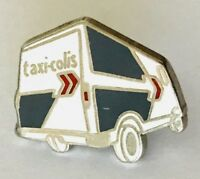 Taxi-Colis Parcel Delivery Van Pin Badge Advertising France Vintage (C3)