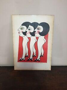 Very RARE Barton Lidice Benes Original (Post Modern, Conceptual Art)