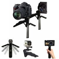 Strong Tripod Mount Desktop Table Handle Stabilizer Folding Stand for GoPro 5 4