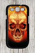 SKULL HEAD FROM HELL'S FIRE CASE COVER FOR SAMSUNG GALAXY S3 -hdf5Z
