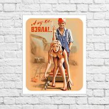 Tin sign, soviet, soviet poster, ussr, metal signs, soviet vintage, USSR sign