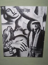 FERNAND LEGER 1986 Tokyo Art Exhibition Catalog 36 illustrations 25 color