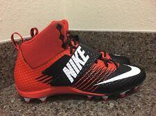 Nike Force Lunarbeast Strike Pro TD Mid Football Cleat 833421-018 Men 12.5