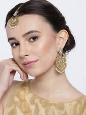 Indian Gold Tikka Tika Headpiece earrings Set ** UK SELLER**