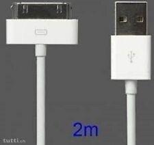 Genuine CE Per Apple iPad 3 2 iPhone 4 4 S 3GS USB cavo caricabatteria per sincronizzazione dati 2 M