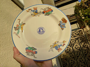 (M) GREAT NORTHERN ROCKY PATTERN CHILD'S DINNER PLATE RAILROAD VERY NICE