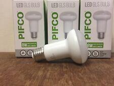 Pack of 3 LED Warm White 8 Watt R63 Bulbs E27 Large Edison Screw 640 Lumens