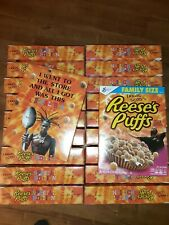 Travis Scott Cereal X Reeses Puffs 100% New Cactus Jack Limited La Flame Kylie