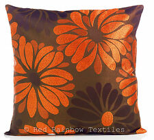 Polyester Floral Square Decorative Cushions