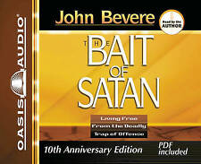 The Bait of Satan: Living Free from the Deadly Trap of Offense by John Bevere (CD-Audio)