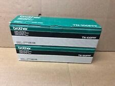 Lot of 2 Genuine OEM Brother Toner Cartridges TN-100PPF for IntelliFax 2300ML