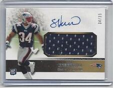 1/1 SHANE VEREEN 2011 TOPPS PRECISION BRONCE JERSEY AUTO RC #D 34/35 JERSEY NBR!