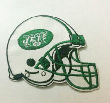 """New York Jets Helmet Iron On Patch 3"""" x 2 3/4"""" Free Shipping by Envelope Mail"""