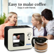 Haier Espresso Machine Cappuccino Expresso Latte Coffee Maker Milk Frother 4-Cup