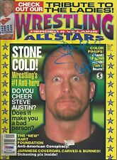 Stone Cold Steve Austin Signed WWE Wrestling All Stars Magazine PSA/DNA COA