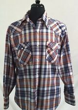 STEPHENS The Great American Classic Pearl Snap Button Front Shirt L Large