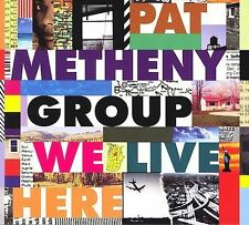 Pat Metheny Group-We Live Here (UK IMPORT) CD phil3