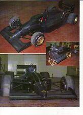 W18 Ritaglio Clipping 1991 Formula 3000 Lola 91