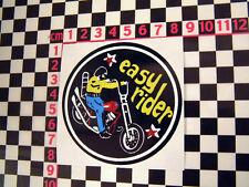 EASY RIDER ADESIVO PER CHOPPER CUSTOM Featherbed HARDTAIL Harley Davidson