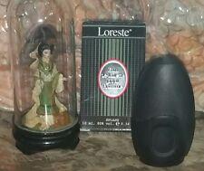 miniature de parfum LORESTE  mini perfume pleine  +boite