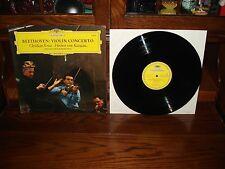 Beethoven: Violin Concerto-Christian Ferras -Herbert von Karajan-Record Album LP