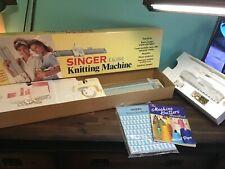 Singer Model Lk100 Knitting Machine Extra book,Patterns