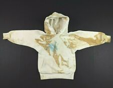Vtg 50s 60s Cranbrook Jr Distressed Raglan Hoodie Youth Size 8 Farm Usa Made