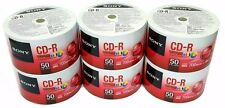 300 SONY Blank CD-R CDR White Inkjet Printable 48X 700MB Recordable Media Disc