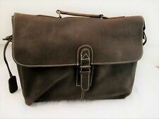 Leather Mens Messenger Bag. Genuine Real High Quality Leather. Ideal for laptop.