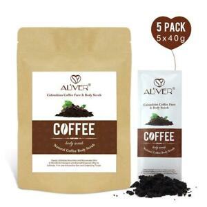 Colombian Coffee Natural Body Scrub Exfoliating Anti-Cellulite Stretch Marks
