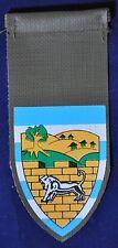 ZAHAL Army IDF  Israel Efraim Samaria Division Unit shoulder tag new