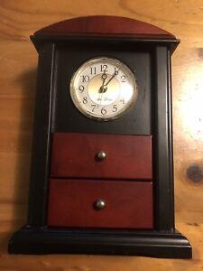 SETH THOMAS KEEPSAKE JEWELRY BOX CLOCK TMH- Model 200 Working!!!