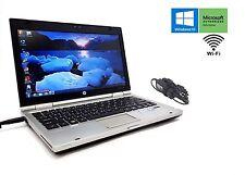 """HP EliteBook 2560P Core i5 2520M 2.5GHz 320GB 4GB RAM 12.5"""" DVD Windows 10 Pro"""