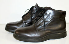Hugo Boss Ankle Boots Chuka 40 EU 7 US medium Lace up Rubber Sole