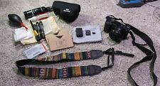 Sony Alpha α6000 24.3MP Digital SLR Camera with 16-50mm lens, 128gb card, extras