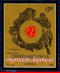 2035 MEXICO 1997 JAPONESE EMIGRATION CENT., RELATIONSHIP, MI# 2635, MNH