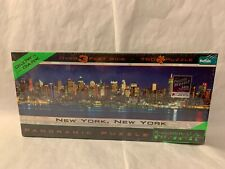 Buffalo Games Panoramic Puzzle New York City Glow in the Dark 750pc Jigsaw Puzzl