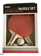 Franklin 2 Player Paddle Set For Table Tennis - 🔥New 🔥NIP Great Gift Ping Pong