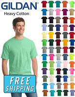 Gildan 5000 Heavy Cotton T-Shirt 100% Cotton Small - XL
