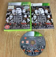 Sleeping Dogs (Xbox 360), Very Good Xbox 360, Xbox 360 Video Games