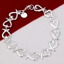 Wholesale Fashion Jewelry silver charm Bracelets E925