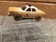 Dukes Of Hazzard Roscoe's 1977 Dodge Monaco Dirty Mud Police Car Slot Car