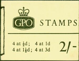 GB 1964 Oct 2s Wilding Booklet SGN18p Phosphor Fine & Complete