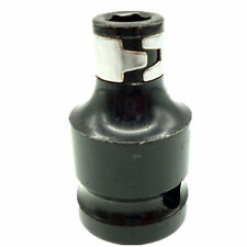 """Quick Release 1/2"""" Dr. To 1/4"""" Hex Shank Socket Adapter Converter Conversion Kit"""