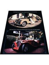 1974 MG Midget MGB Original Tri-folding Sales Brochure folder