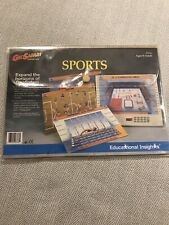 Geosafari Cards Learning Game EI-8766 SPORTS CARDS 1994 Complete Set Educational