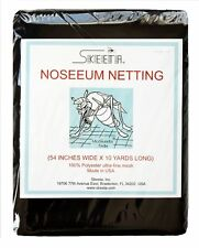 """Mosquito noseeum netting/net 54"""" wide x 10 yards long, color olive, by Skeeta"""