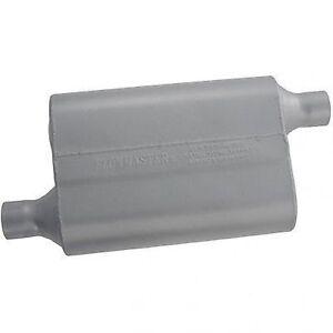 Flowmaster 942043 40 Series Delta Flow Muffler, 2.00 Offset In / 2.00 Offset Out